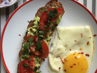 Avocado feta toast