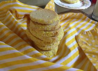 Lemon wheel cookies