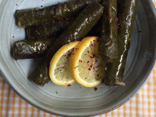 Dolma, Sarma or Stuffed Vine Leaves