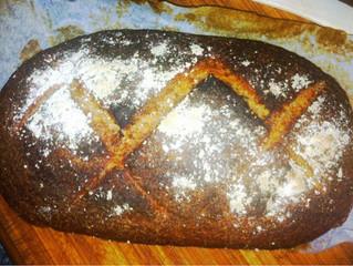 Nigel Slater's Rye bread and sardines on toast