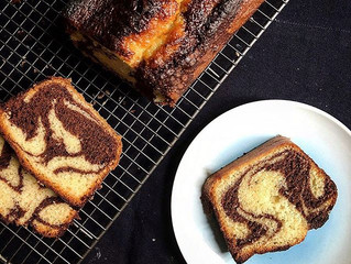 Marble cake (or Tiger cake from Food52)