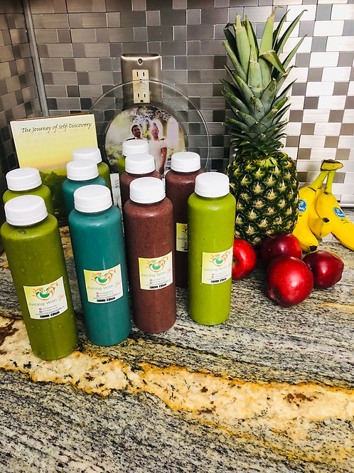 3 Day Blended Island Smoothies