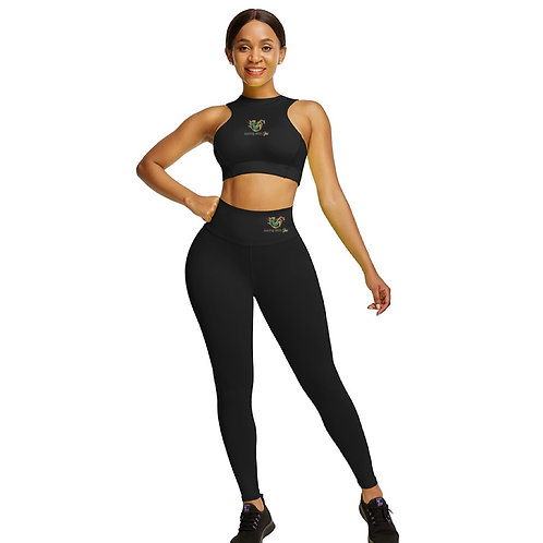 JWJ Athleisure Yoga Set