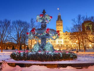Noël à Québec, c'est magique !