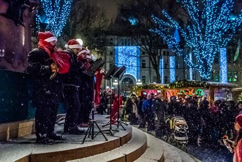 Noël dans la ville de Québec | Unilofts Québec