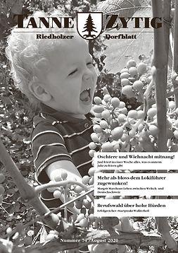 Pressebericht_TanneZytig 2020_Titelblatt