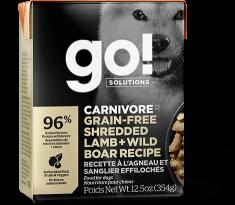 GO! Carnivore Shredded Lamb and Wild Boar Recipe