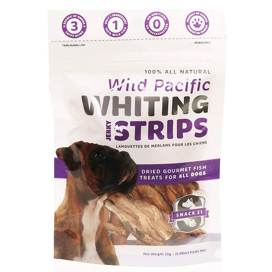 Wild Pacific Whiting Jerky Strips