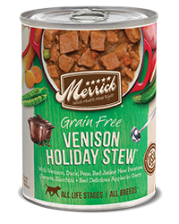 Merrick Venison Holiday Stew