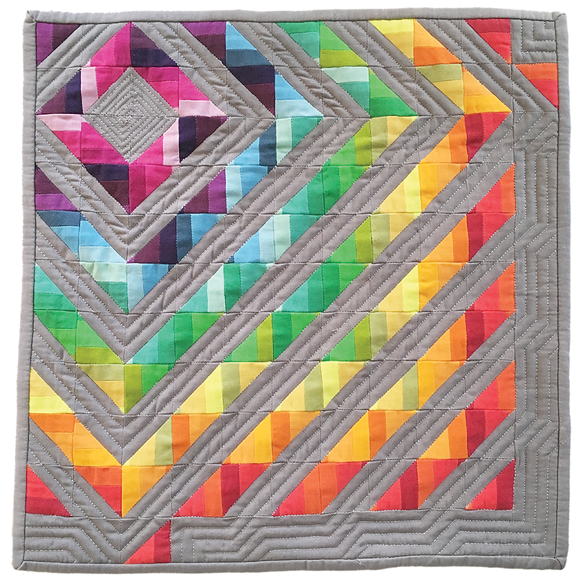 Strippin Mini Quilt with Terry Lieberman