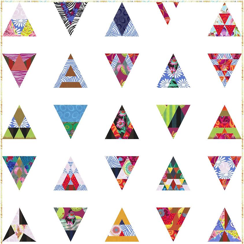 Modern Triangles 1 through 9