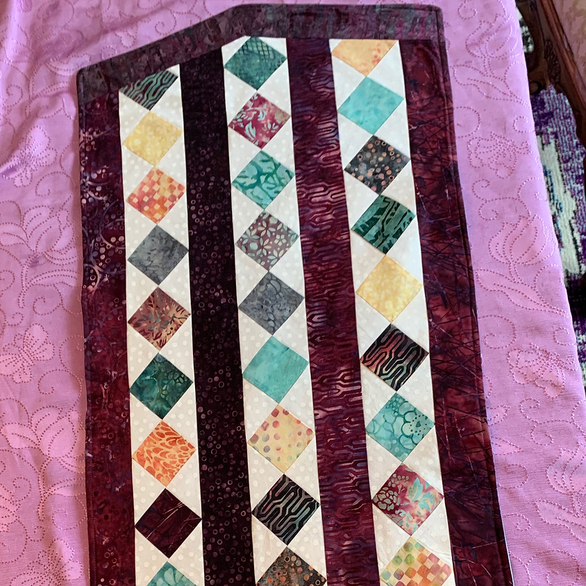 Scrappy Table Runner with Terry Lieberman