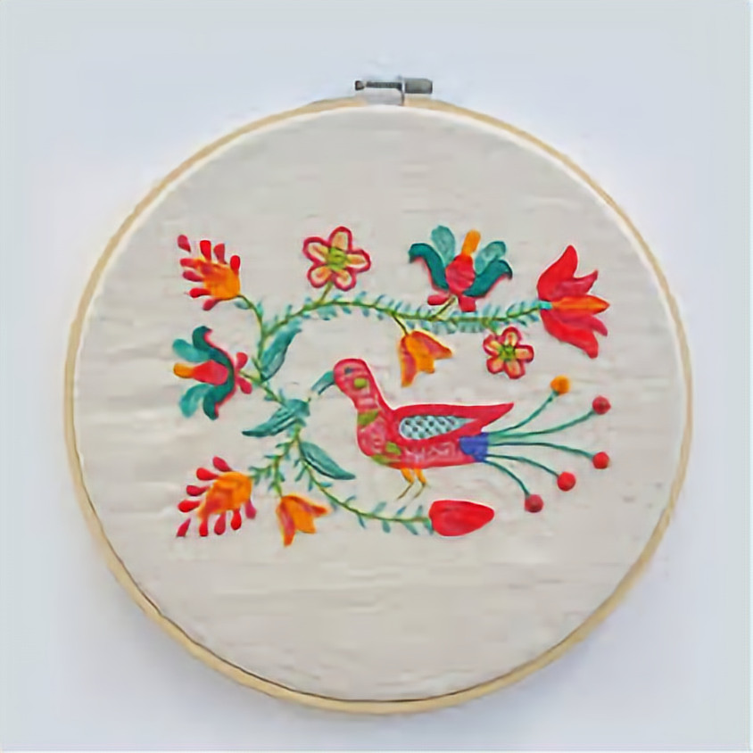 Beginner Hand Embroidery with Nancy Moy