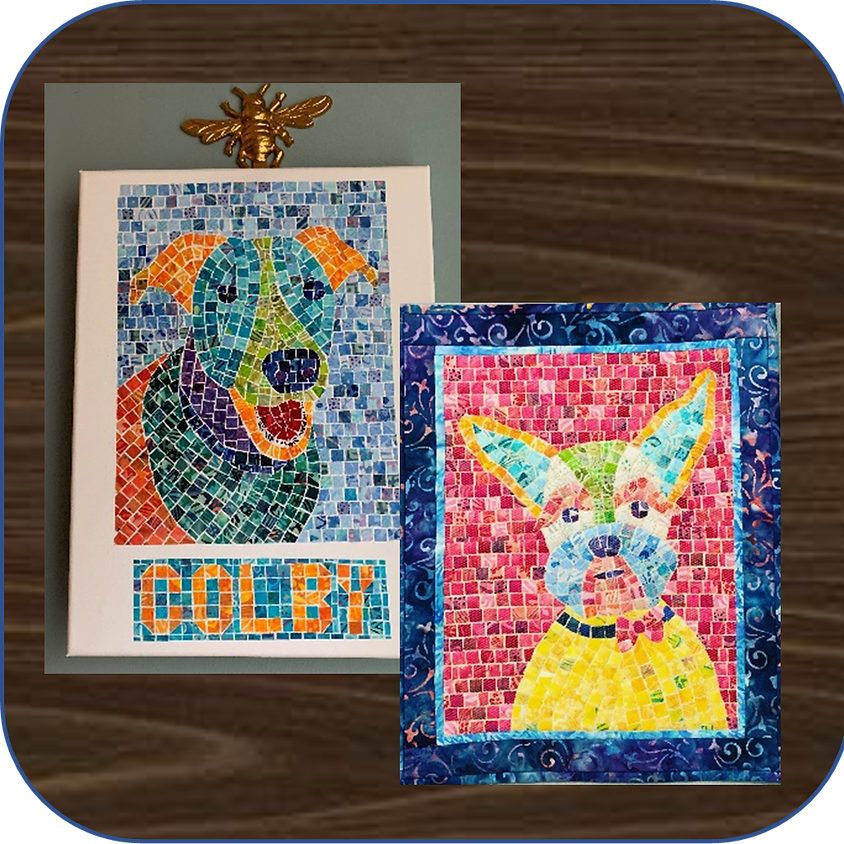 Whimsical Pet Mosaic Portraits with Cheryl Lynch