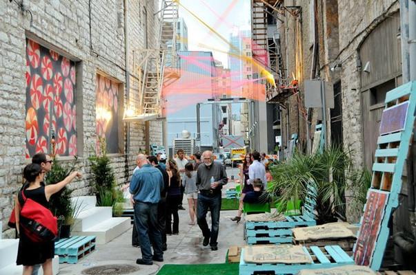 Precedent; Austin tactical urbanism