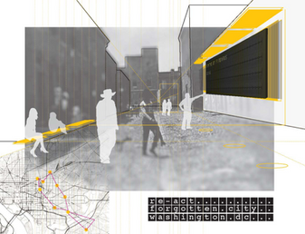 Reimagining DC's alley network [Re_act DC], Urban Rehabilitation and Tactical Urbanism, USA