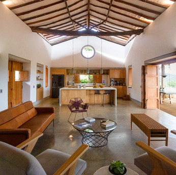 Casa Vero, Earth Construction, Barichara, Colombia