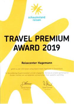 SLR 2019 Travel Premium Award