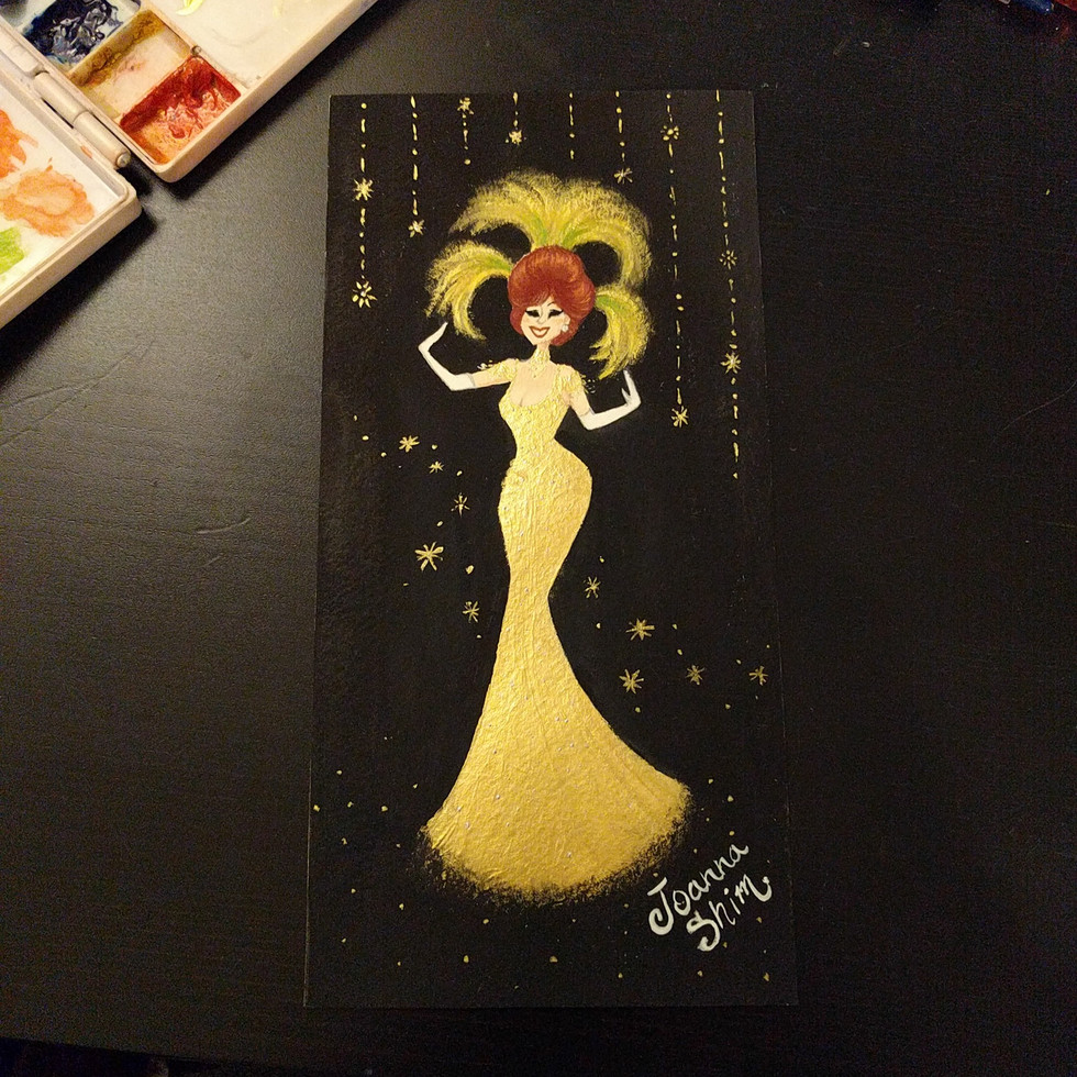 Felt inspired after watching Hello Dolly!