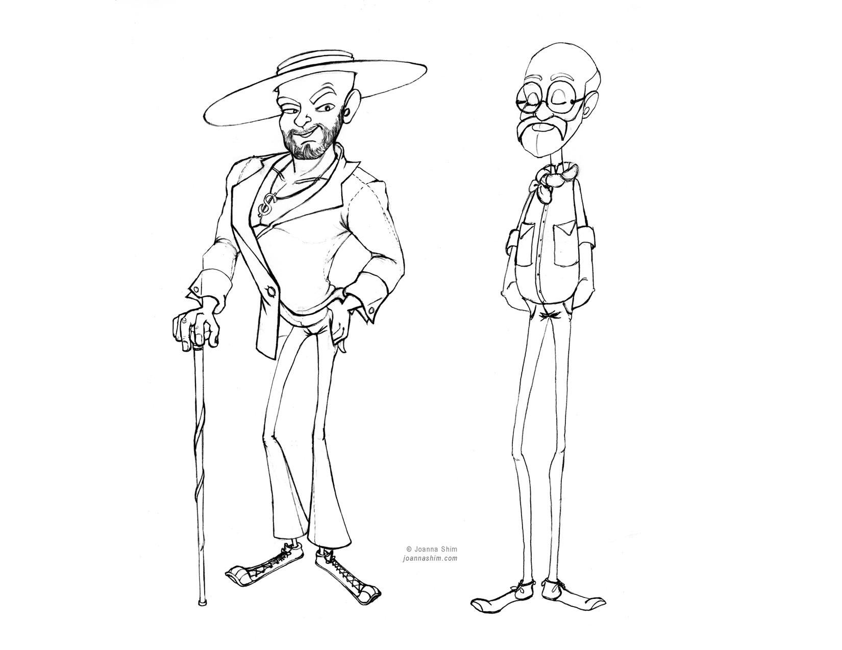 Character studies