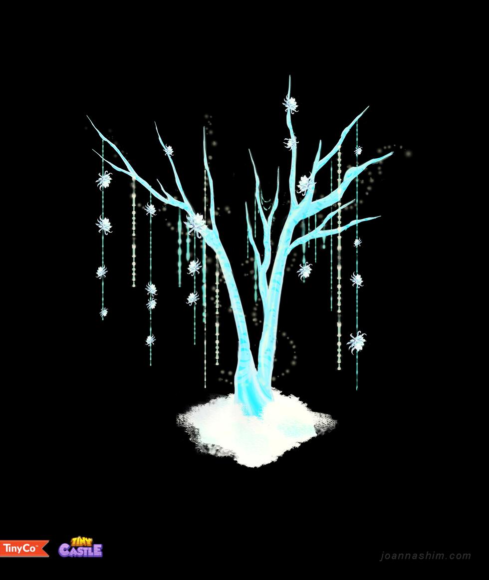 Tiny Castle - Asrai Tree Decoration