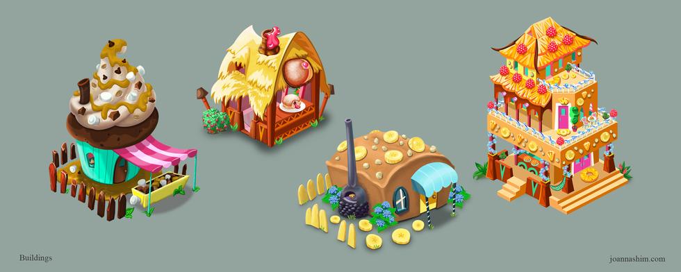 Dessert Buildings