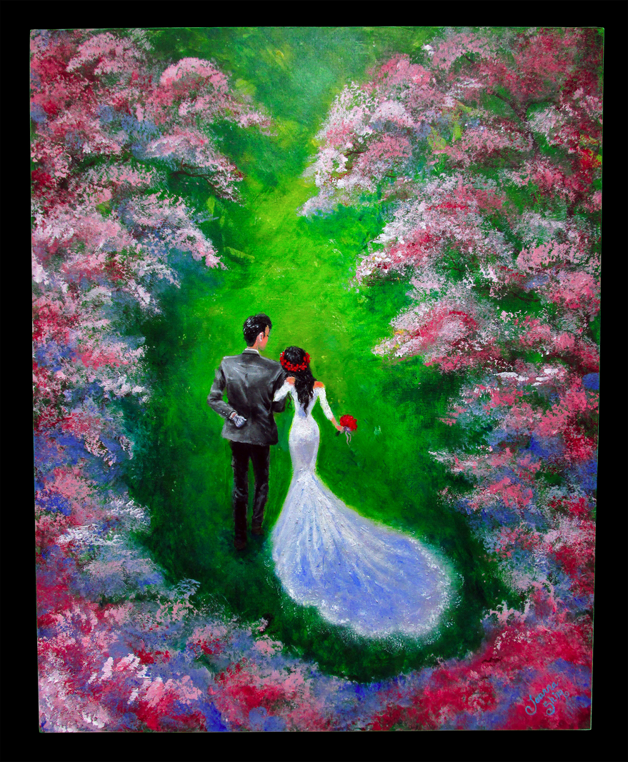 A wedding gift for my childhood friend.