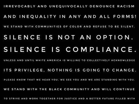 Black Lives Matter Statement from NINE10