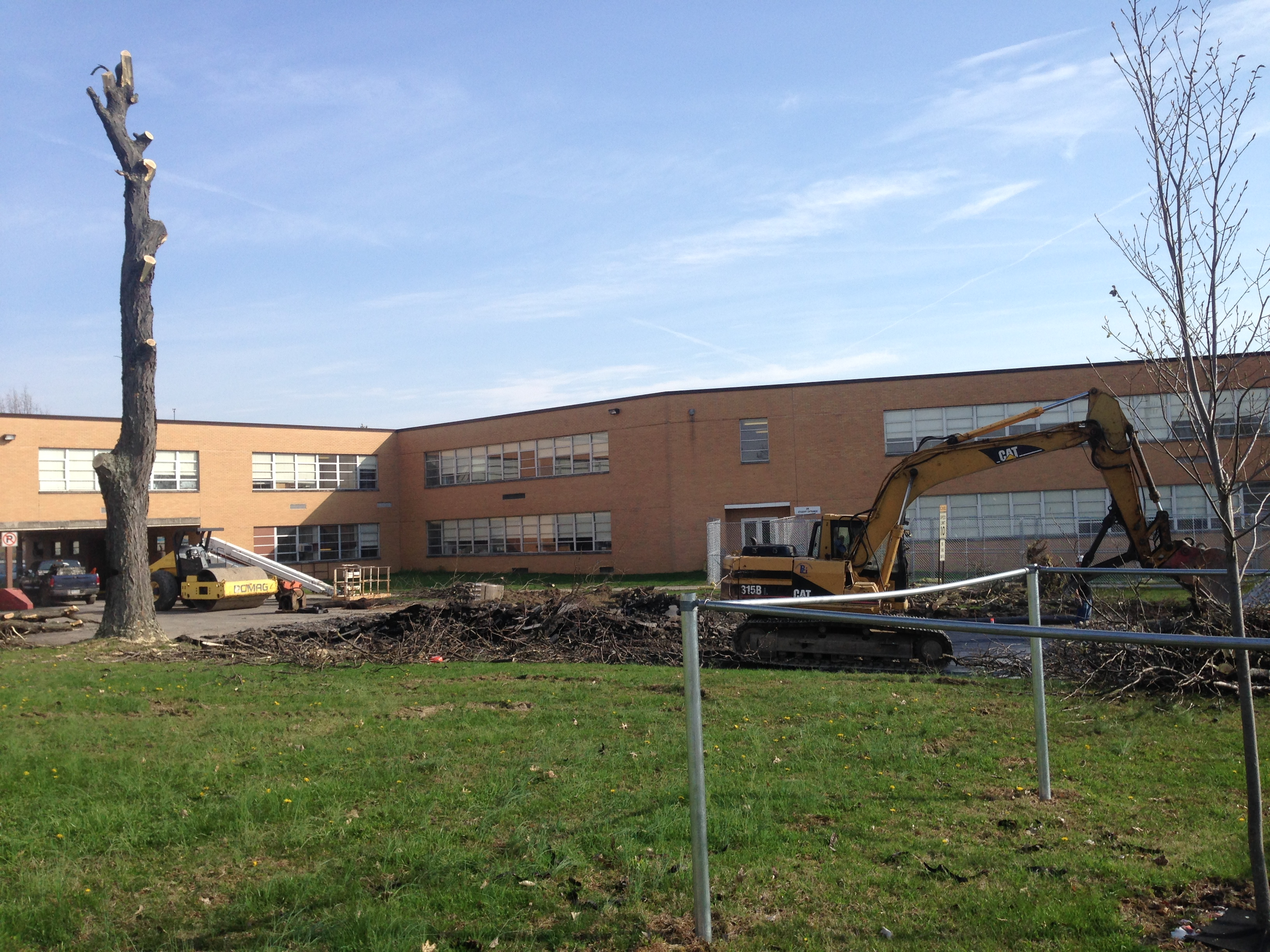 Carmicheals, PA high school addition
