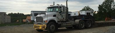 Heavy hauling, mack tractors, lowboy