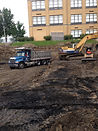 Coal removal, school construction