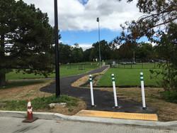 New flexi-pave trail entrance