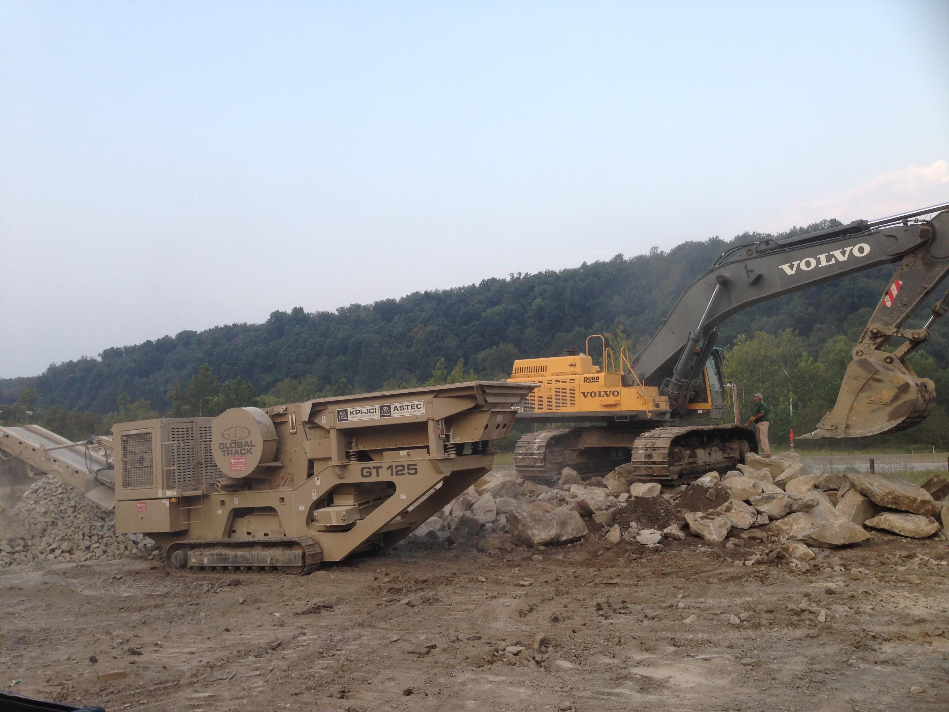 Rock Crushing
