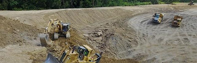 Catepillar equipment, dozer, excavator, excavation, rock truck