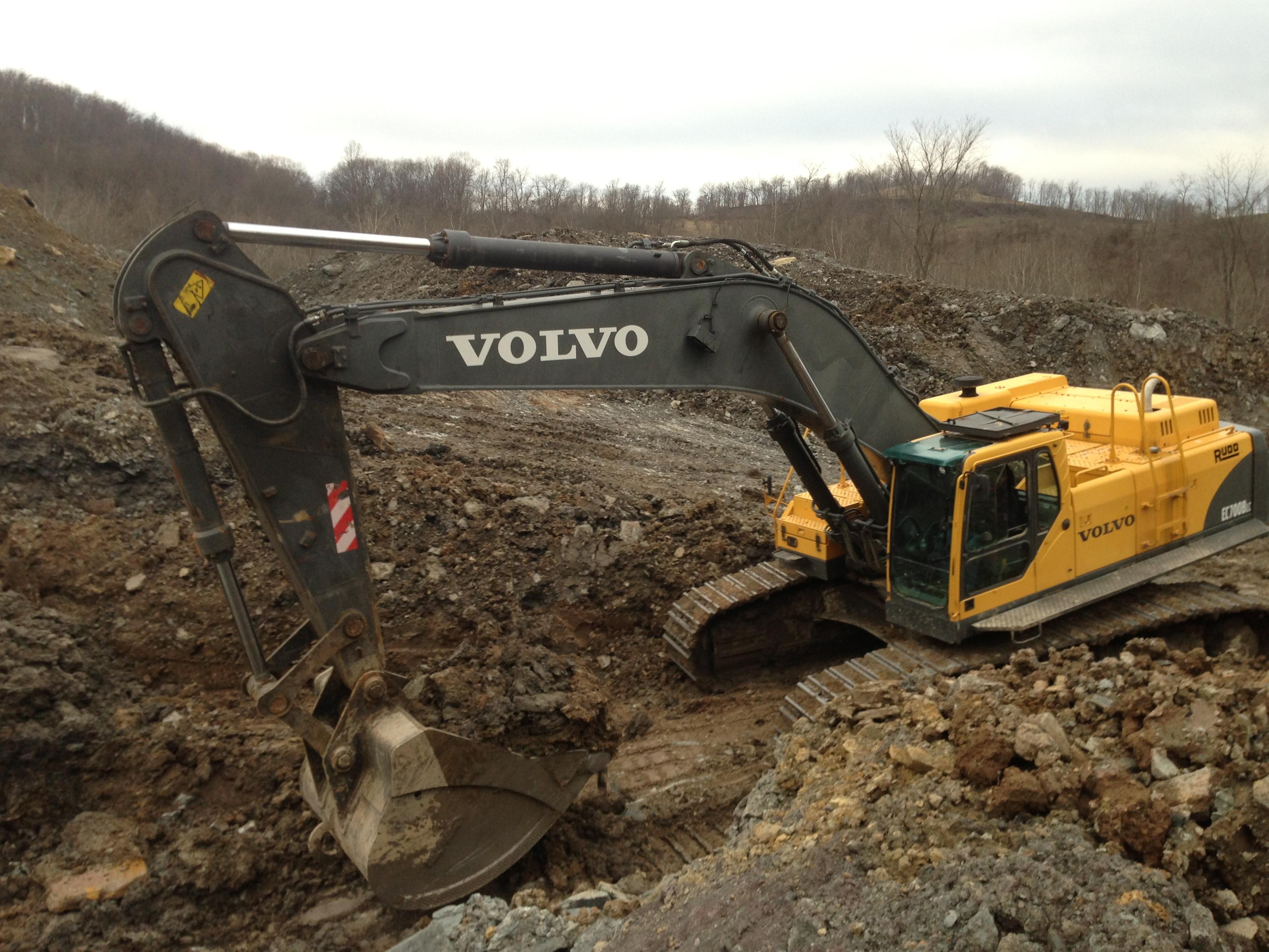 Volvo 700 excavator