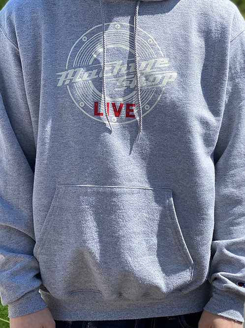 Machine Shop LIVE! Logo Hoodie - Printed on Champion Hoodies