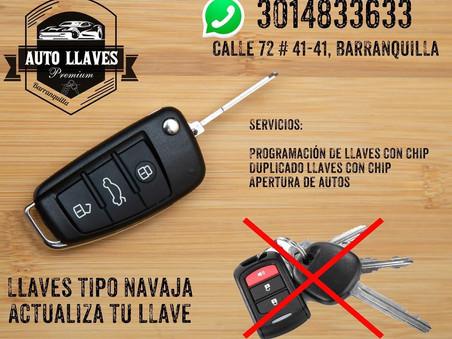 ¿Llaves tipo navaja Premium en Barranquilla? Pregúntanos.