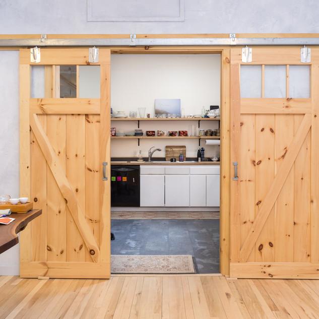 Commercial interior renovation
