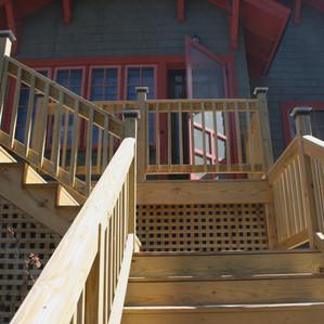 Residential deck & entry steps