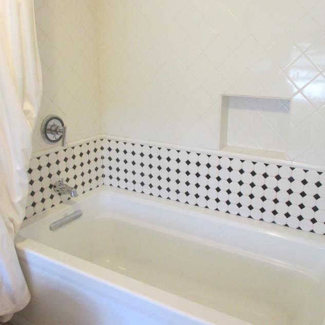 Bathroom design & tiling