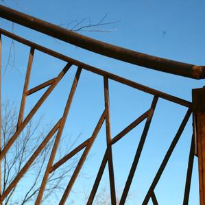 Custom-designed railing