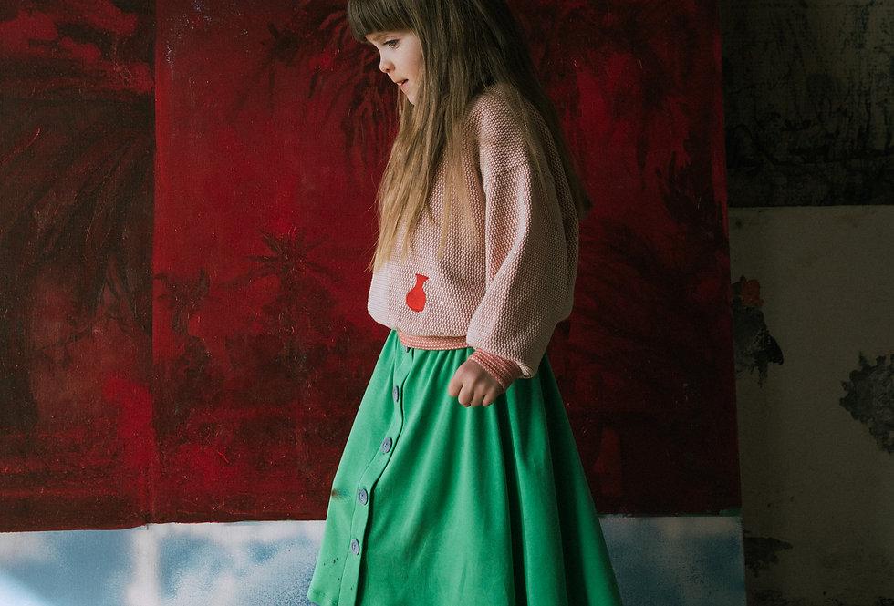 Зелена спідниця
