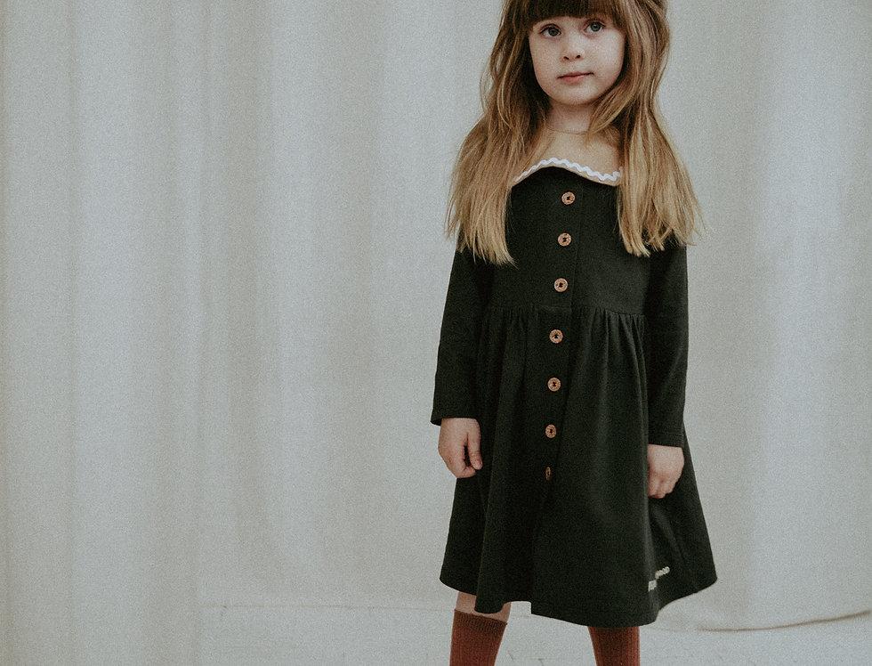 Сукня зі знімним  комірцем
