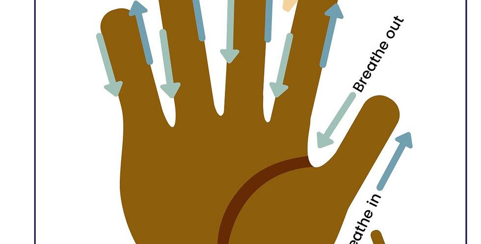 """""""5 Finger Breathing"""" - Digital Download"""