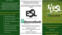 22nd Annual ESL Golf Tournament Dates!