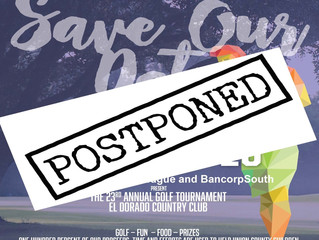 23rd Annual Golf Tournament Postponed
