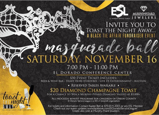 """Toast The Night Away"" Masquerade Ball"