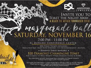 """Toast The Night Away"" Masquerade Ball"