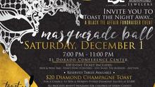 Toast the Night Away Masquerade Ball