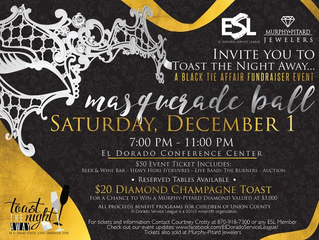 Toast the Night Away Masquerade Ball